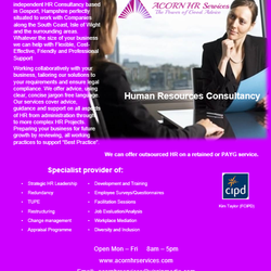 Acorn HR Services, Gosport, Hampshire